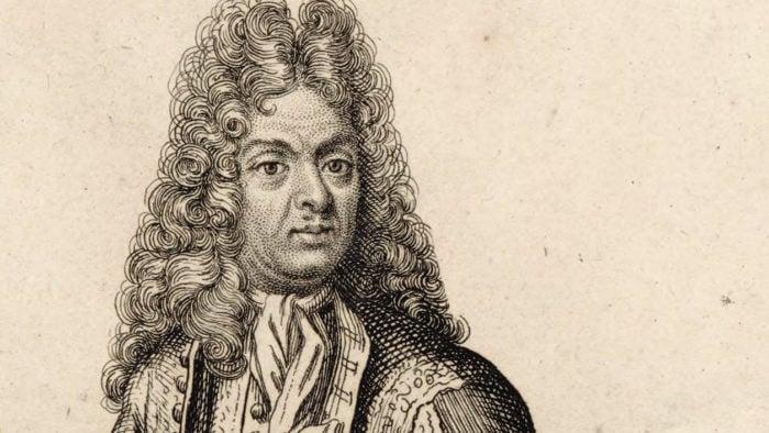 Jean-Baptiste Lully engraving by Henri Bonnart