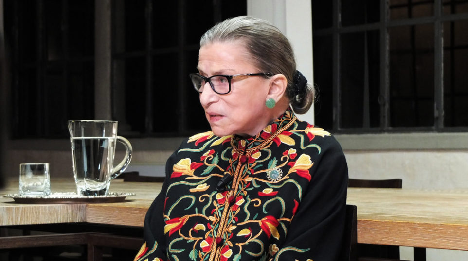 Video | Justice Ginsburg on the death penalty and opera
