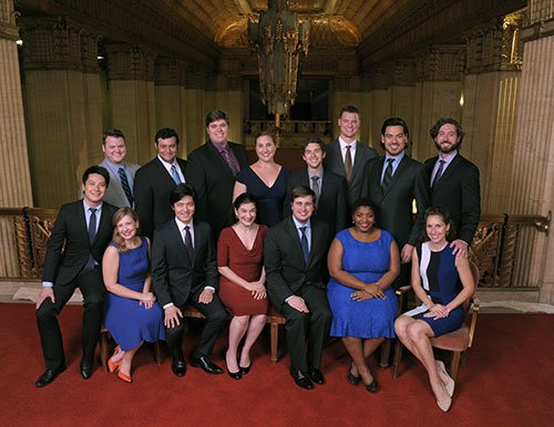 Ryan Opera Center Ensemble members