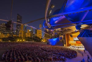 9/6/14 8:02:34 PM -- Stars of Lyric Opera at Millennium Park in Chicago, IL, USA . © Todd Rosenberg Photography 2014