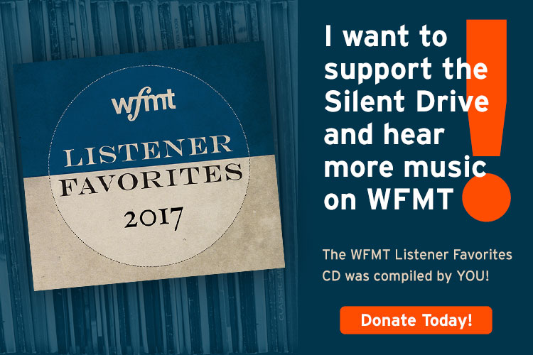 I want to support the Silent Drive and hear more music on WFMT!