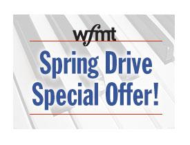 WFMT Spring Drive Special Offer
