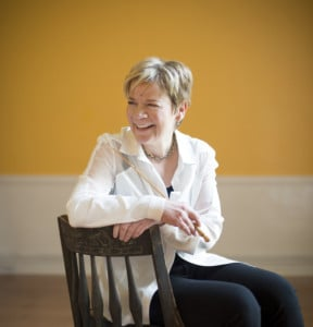 Conductor and violinist Marin Alsop (Photo: Adriane White)