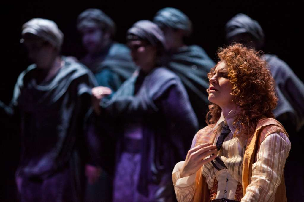 "Abigail Fischer as Isabelle Eberhardt in ""Song from the Upoar"" (Photo: Stephen Taylor)"