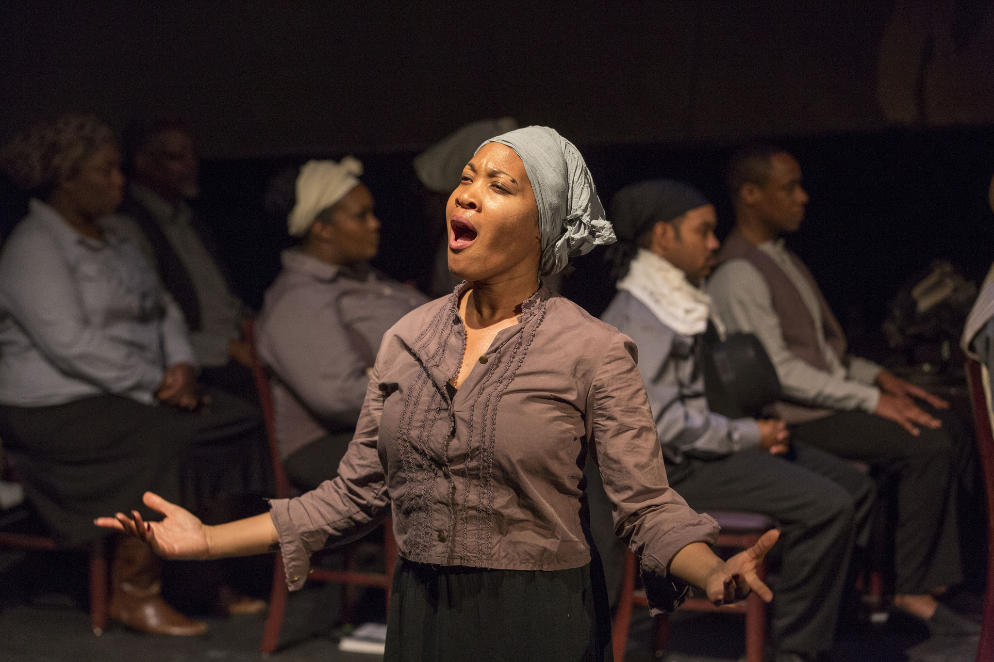 "The American Opera Project's priemere production of ""Harriet Tubman"" (Photo: Richard Termine"