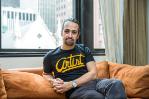 Lin-Manuel Miranda is seen in New York, New York on Tuesday September 2, 2015.