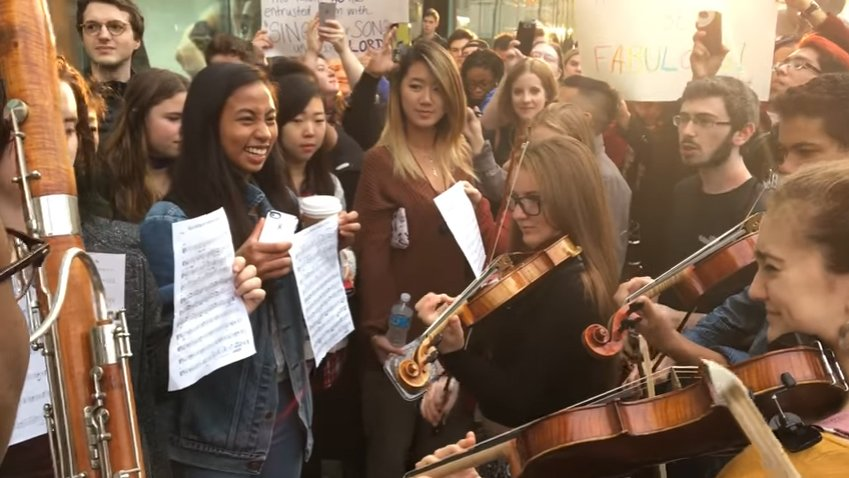 VIDEO: Juilliard Students Troll Westboro Baptist Church with Musical Counter-Protest