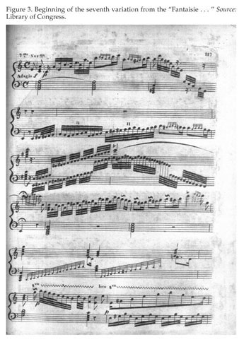A page from Madame Le Pelletier's