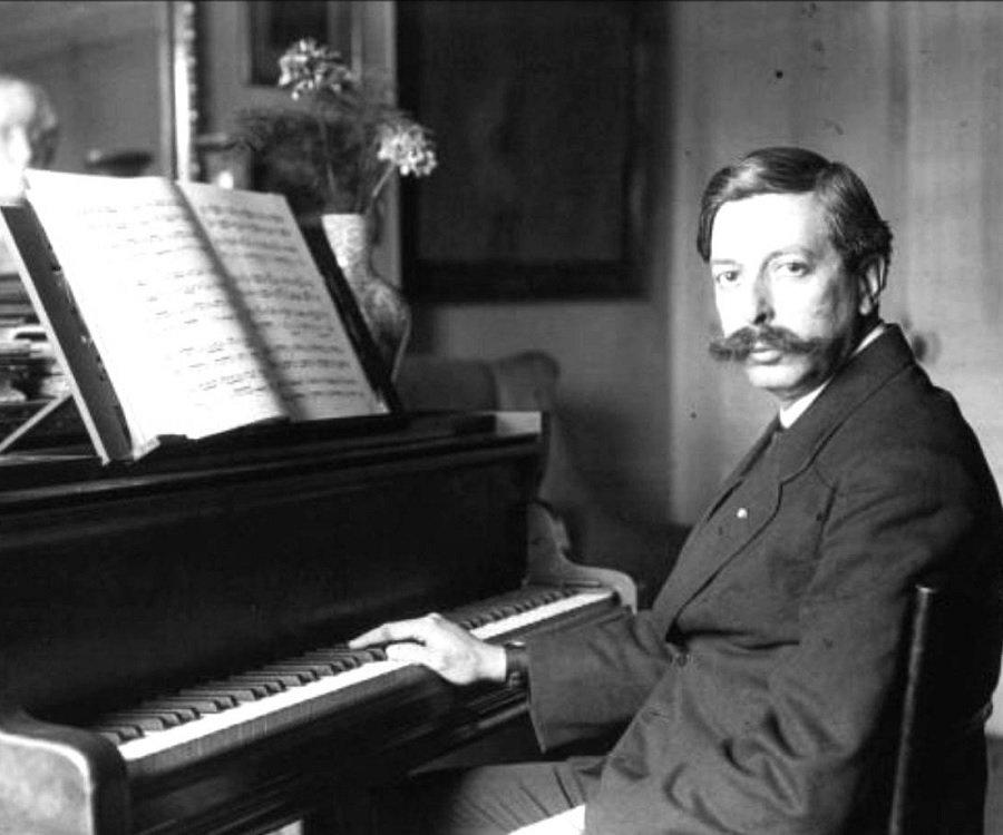 Composer and pianist Enrique Granados