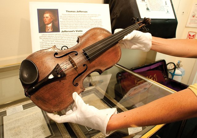 Thomas Jefferson's Violin is rumored to be by luthier Nicolò Amati