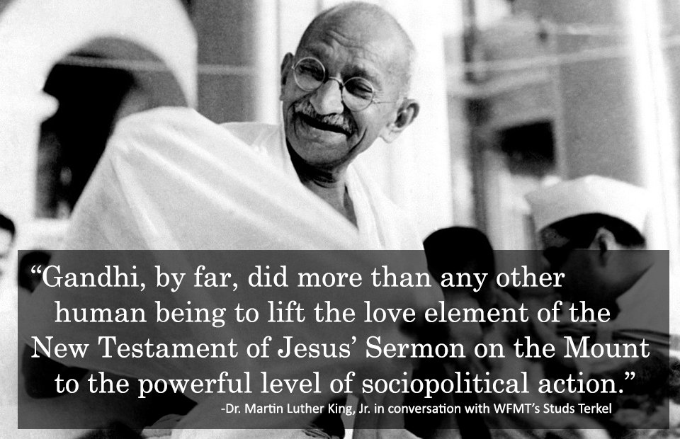 Gandhi and martin luther king essay