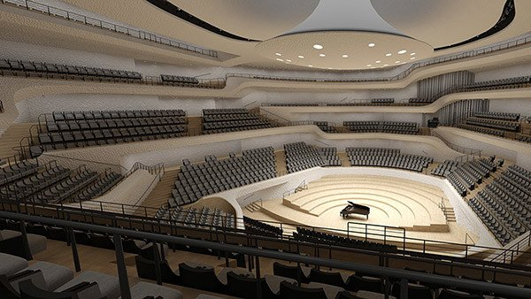 Hamburg's spectacular Elbphilharmonie opens for 1st concert