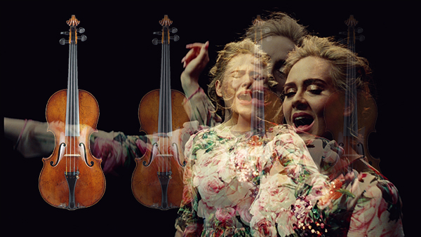 "Hear Adele's ""Send My Love"" From Her Grammy Award-Winning Album ""25"" Arranged for String Quartet"