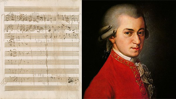 Now's Your Chance to Own a Mozart Autograph Score
