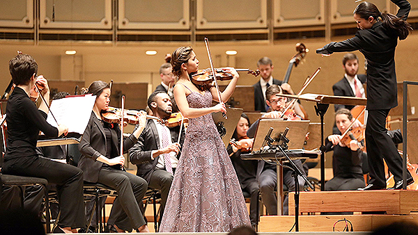 16-Year-Old Violinist Maya Buchanan Wins 2017 Chicago Symphony Orchestra Young Artists Competition
