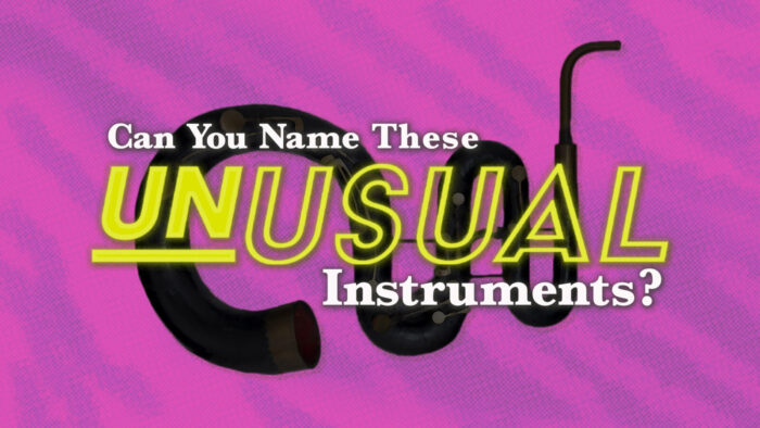 name unusual instruments