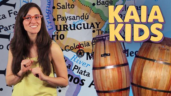 KAIA Kids Around the World: The Music of Uruguay