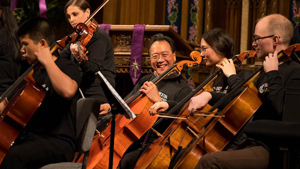 "Yo-Yo Ma, Civic Orchestra Musicians to Present Benefit ""Concert for Peace"" at  St. Sabina Church"