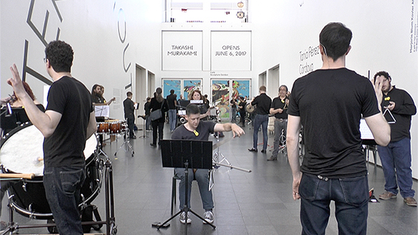VIDEO: This is what it sounds like when 100 percussionists play together