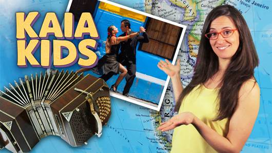 KAIA Kids Around the World – The Music of Argentina