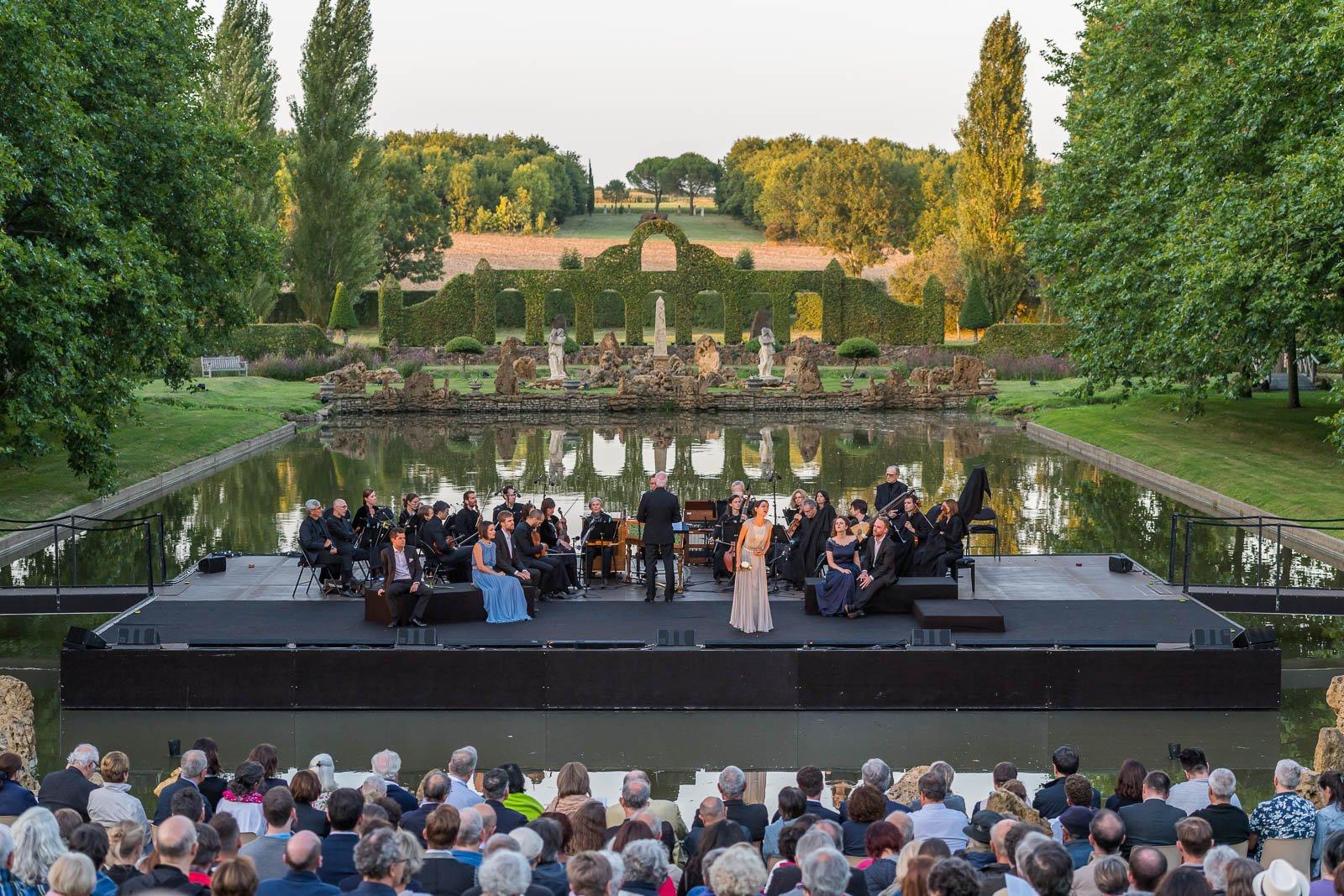 Baroque music flourishes in the gardens of william - Festival dans les jardins de william christie ...