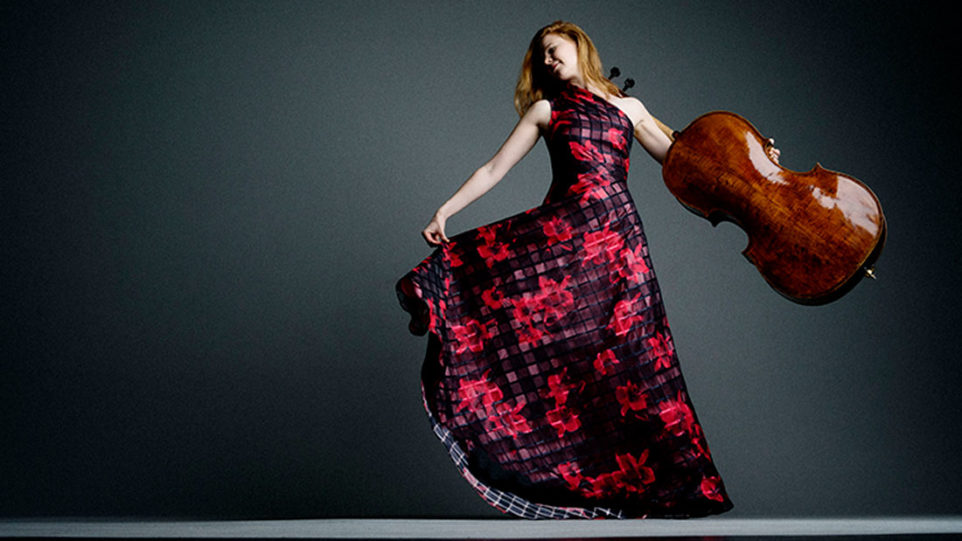 Cellist Harriet Krijgh. (Photo: Marco Borggreve)