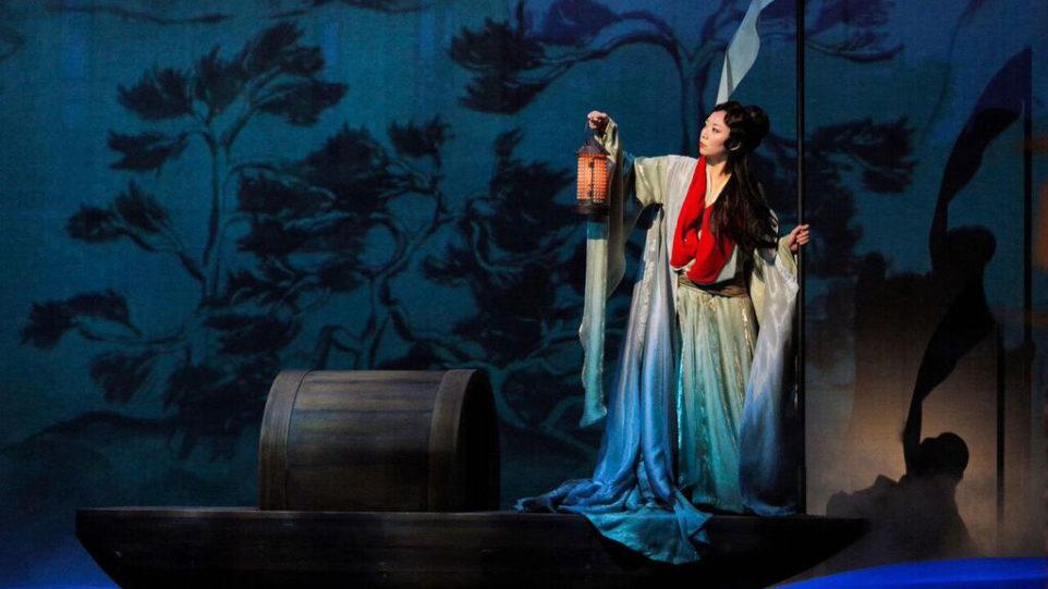 Pureum Jo as Dai Yu (Photo: Cory Weaver)