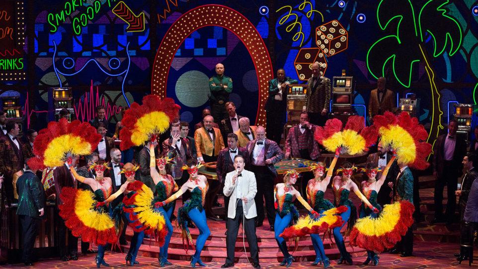 A scene from Verdi's Rigoletto. Photo by Marty Sohl/Metropolitan Opera.