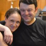 Pianist Angela Yoffe and violinist Vadim Gluzman.
