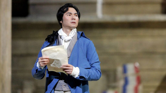 Yonghoon Lee as Chénier (Photo: Cory Weaver)