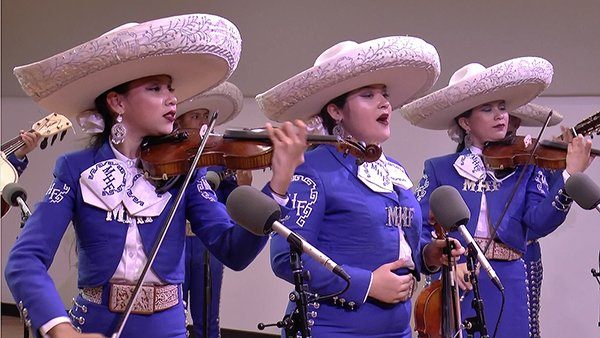 VIDEO | Hear the young mariachi ensemble from Chicago that's topping charts and winning hearts