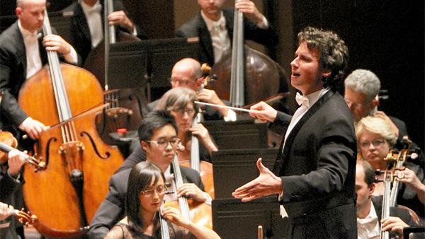 Meet Stilian Kirov, the new music director of the Illinois Philharmonic Orchestra