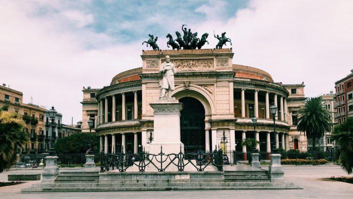 Theater Politeama Garibaldi, Palermo, Sicily, Italy