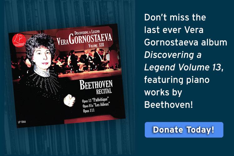 Vera Gornostaeva: Discovering a Legend Volume 13