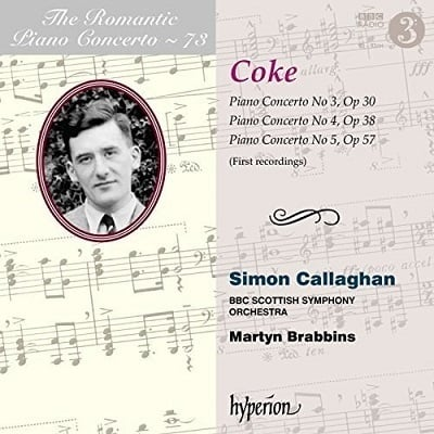 The Romantic Piano Concerto: Music of Roger Sacheverell Coke