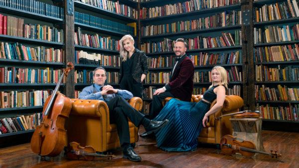 July 8-12, 2019: Escher Quartet, Pablo Sáinz Villegas, Gabriel Martins, St. John Cantius Church, Spektral Quartet