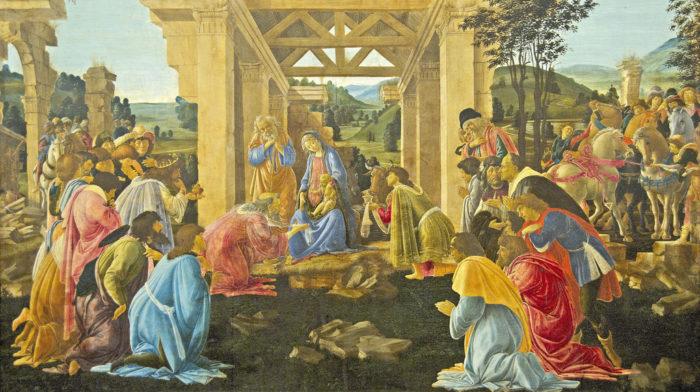 "Sandro Botticelli (1446 - 1510) ""The Adoration of the Magi,"" c. 1478/1482"