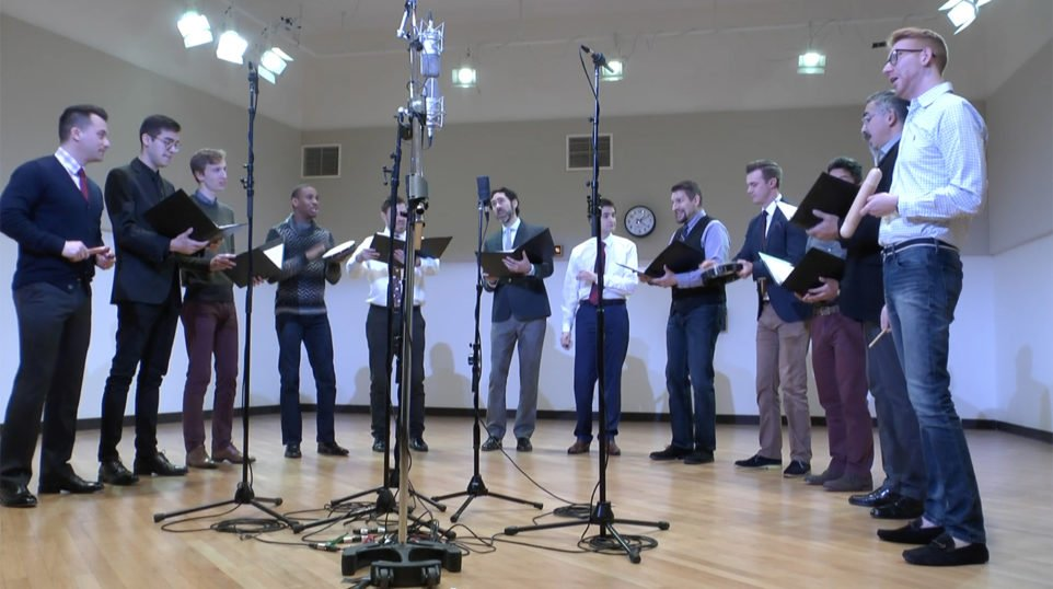 STREAM | Chanticleer shares holiday music from around the world, live in the WFMT studios