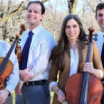 Kontras Quartet; Dmitri Pogorelov, Francois Henkins violins, Ben Weber, viola, and Jean Hatmaker, cello