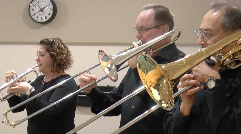 VIDEO | Music of the Baroque Brass Ensemble performs 17th century dances by Michael Praetorius