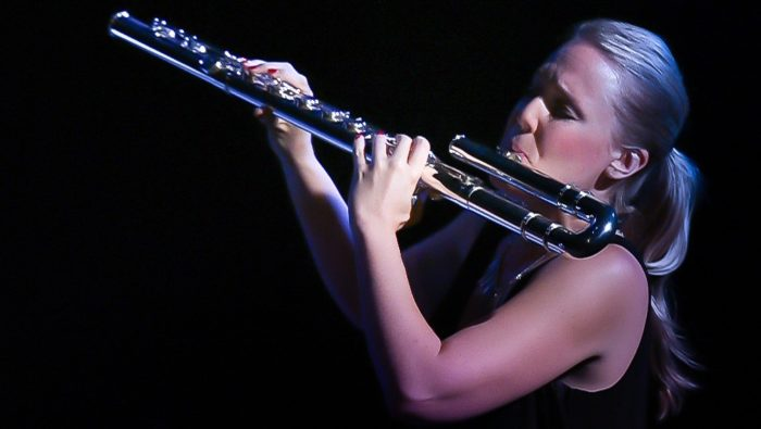 Erika Boysen, Flutes; Photo by Kirby Russell © 2017