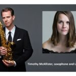 Timothy McAllister, saxophone and Liz Ames, piano