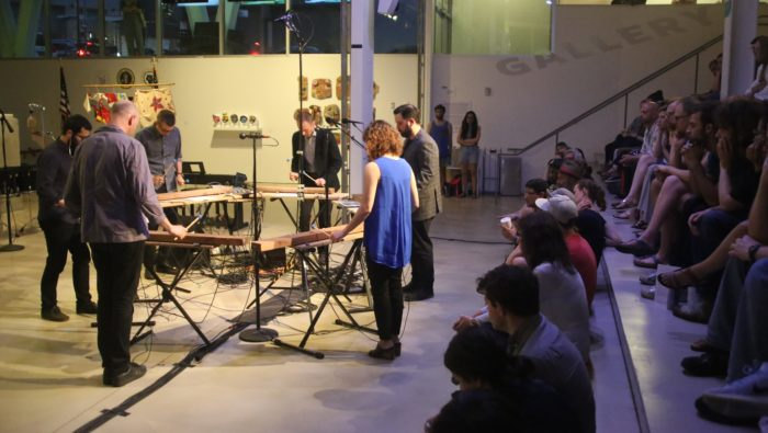 Michael Gordon's Timber being performed by So Percussion on May 19, 2017 in New York