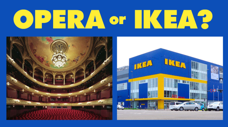 QUIZ | Swedish opera or IKEA furniture?