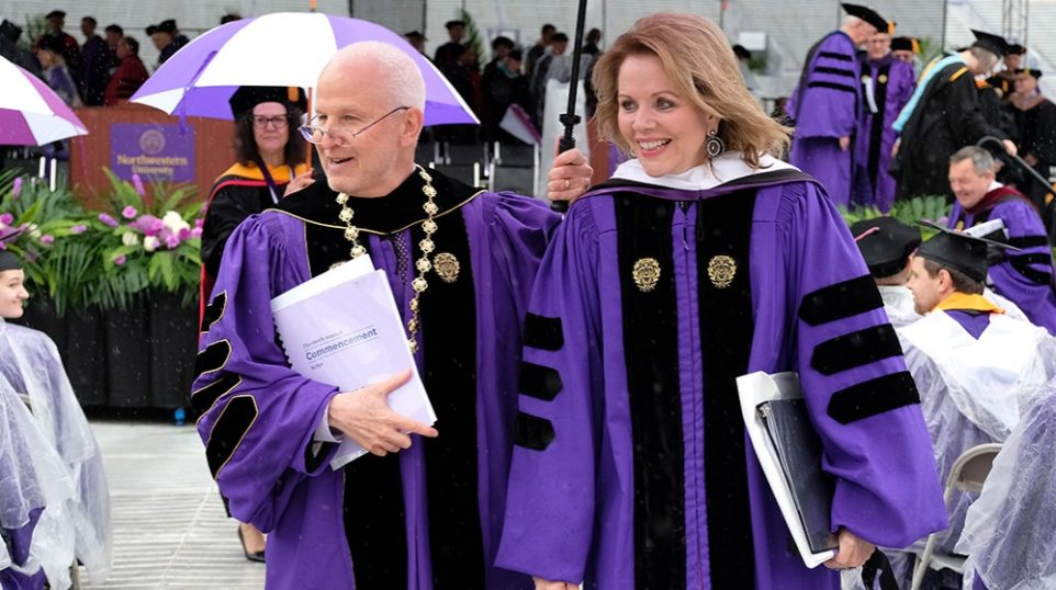 "At Northwestern University, soprano Renée Fleming tells graduates to ""find your voice,"" ""get out there and use it"""