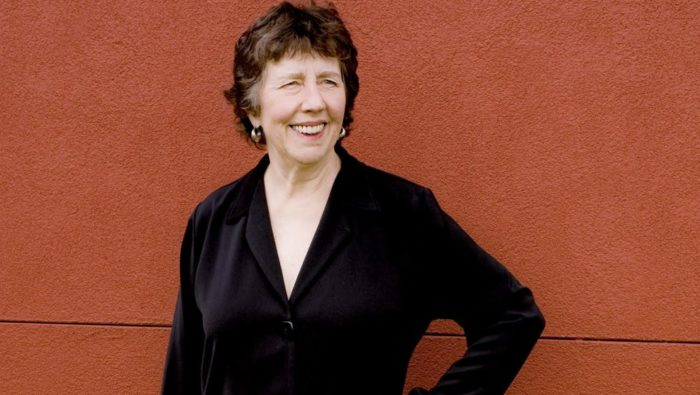 Composer Joan Tower. (Courtesy Bernard Mindich)