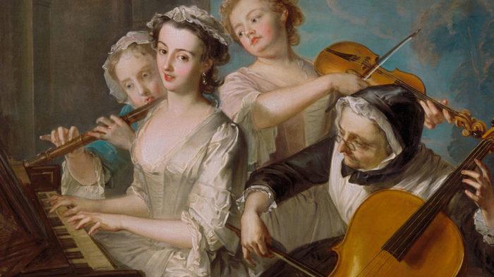 Philippe Mercier: The Sense of Hearing
