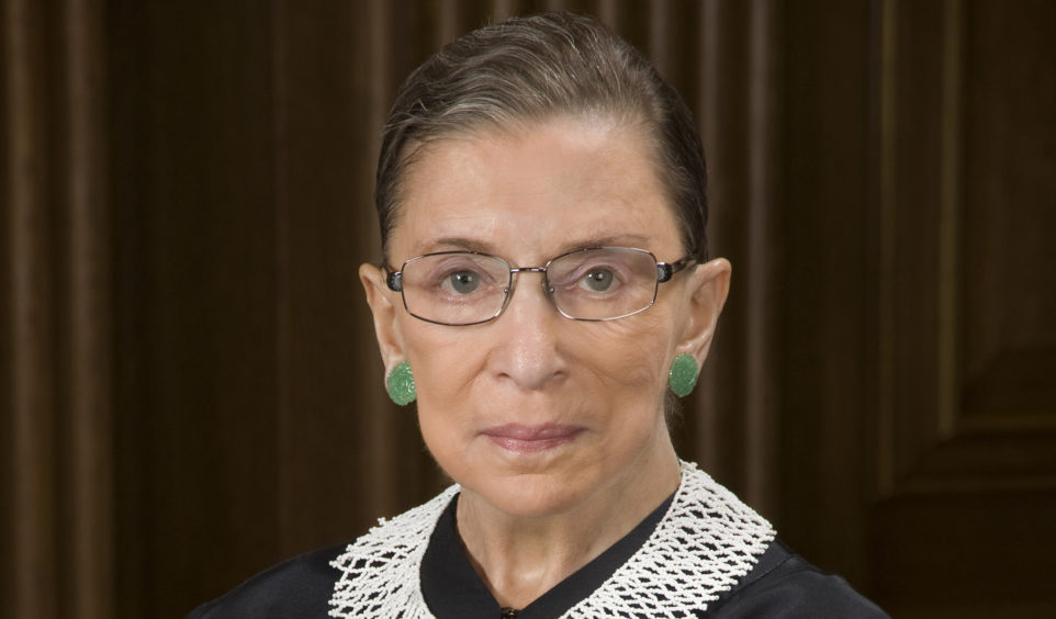 Ruth Bader Ginsburg, Associate Justice of the Supreme Court of the United States (Photo: Steve Petteway, Collection of the Supreme Court of the United States)