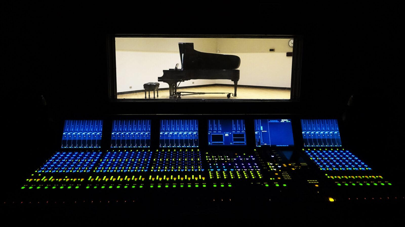WFMT Radio Control Room