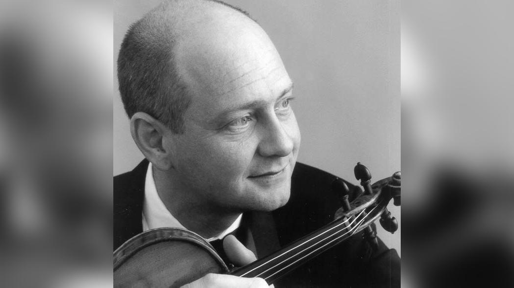 Violinist William Preucil